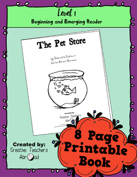 Emerging Reader Book Series: The Pet Store