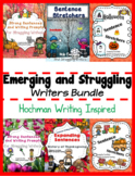 Beginning and Struggling Writers Bundle (Hochman Writing I