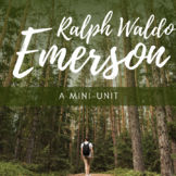 Emerson: Nature and Self-Reliance Mini-Unit! *Instagram Ac