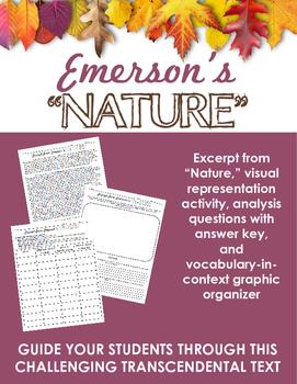 Emerson's Nature Activities -- Transcendentalism