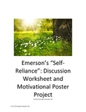 Emerson's Self Reliance: Discussion Questions and Poster Project