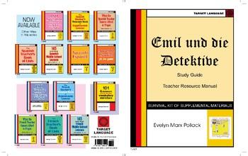 Emil und die Detektive - Study Guide & Teacher Resource Manual