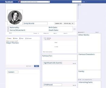 Emily Brontë - Author Study - Profile and Social Media
