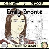 Emily Brontë Clip Art