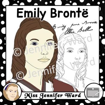 Emily Brontë Clipart