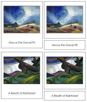 Carr (Emily) 3-Part Art Cards