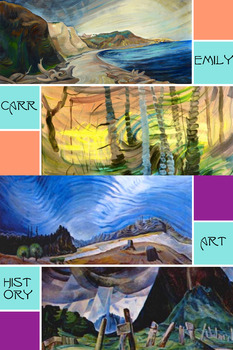 Emily Carr Artist Canada Vancouver Forest Natives Art Hist