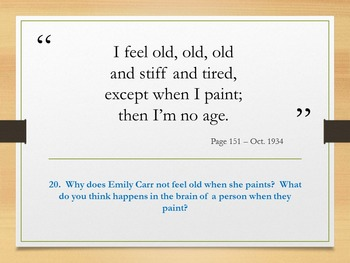 Emily Carr - Quotes