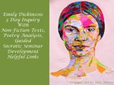 Emily Dickinson: 3 Day Socratic Seminar Unit
