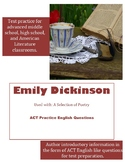 Emily Dickinson ACT English Practice Questions