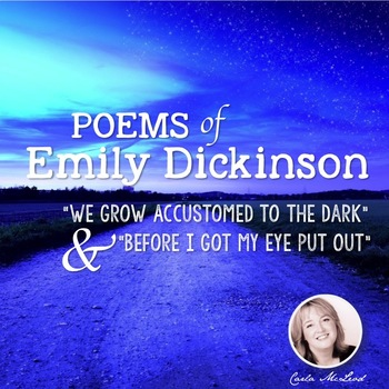 Emily Dickinson:  Analysis & Activity Pack for Two Poems