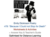 """Emily Dickinson """"Because I could not stop for Death"""" and """""""