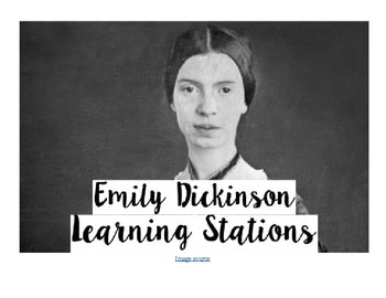 Emily Dickinson Learning Stations