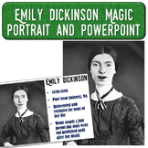 Emily Dickinson Magic Portrait Video & PowerPoint for Auth