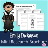 Emily Dickinson Mini Research Brochure