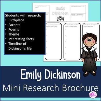 Emily Dickinson Mini Research Brochure