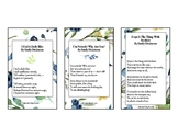 Emily Dickinson Poetry Memorization 3x5 Cards