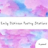 Emily Dickinson Poetry Stations for Middle or High School
