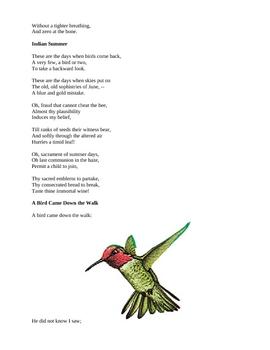 Emily Dickinson - Poetry for Kids!