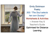 Emily Dickinson - The Soul Selects Her own Society