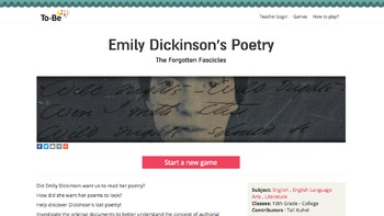 Emily Dickinson and Editing