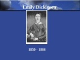 Emily Dickinson and Her Poems Powerpoint
