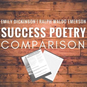 Emily Dickinson and Ralph Waldo Emerson Success Poem Comparison