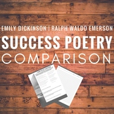 Poetry Comparison-- Success According to Dickinson and Emerson