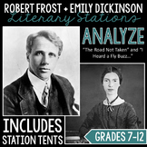 Emily Dickinson and Robert Frost Stations Packet