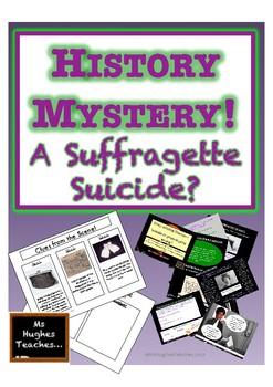 Emily Wilding Davison - A Suffragette Suicide? HISTORY MYSTERY!