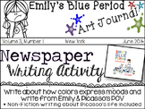 Emily's Blue Period - Creative Writing &  Picasso Biography