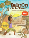 Yoga Desert Book for Kids - Emily's Day in the Desert