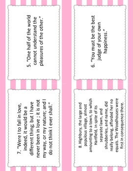 Emma Block Party Cards