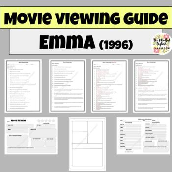 Emma/Clueless Movie Viewing Graphic Organizer. Cinema Literacy. Film Studies.