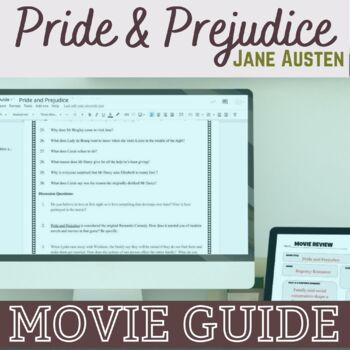 Emma/Clueless Movie Viewing Graphic Organizer  Cinema Literacy  Film  Studies