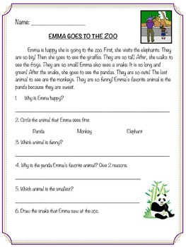 Emma Goes to the Zoo