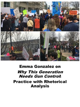 Emma Gonzalez on Why This Generation Needs Gun Control: Practice with Analysis