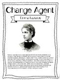 Emma Lazarus! Social Studies Change Agent Mini Bios