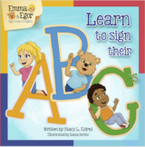 Emma and Egor Learn to Sign Their ABC's - Alphabet eBook