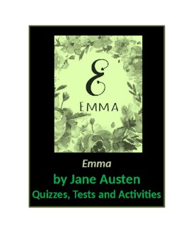 Emma by Jane Austen Tests and Activities