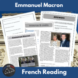 Emmanuel Macron - reading for Int/Adv French learners