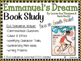 Emmanuel's Dream- Book Study -Growth Mindset - Biography & Reading Comprehension