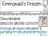 Emmanuel's Dream - Growth Mindset - Creative Writing Activity