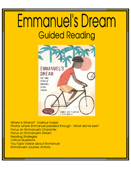 Emmanuel's Dream - Guided Reading
