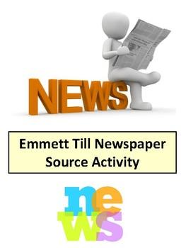 Emmett Till Newspaper Activity