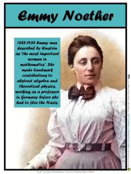 Emmy Noether (Women in Science #4)