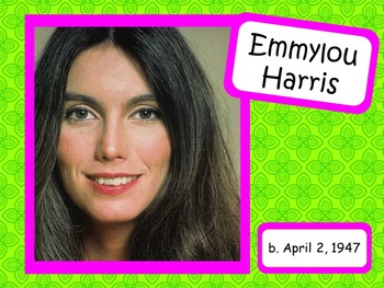 Emmylou Harris: Musician in the Spotlight
