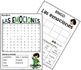 """Emociones Graphic Reading """"Strip"""" for Upper Elementary/Emotions in Spanish"""
