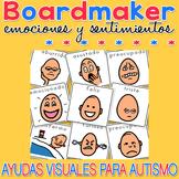 Emociones y sentimientos - Boardmaker SPANISH Visual Aids for Autism