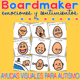Emociones y sentimientos - Boardmaker SPANISH Visual Aids for Autism SPED
